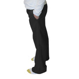 Solid Black Womens Adult Pant