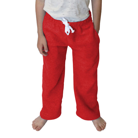 Solid Red Toddler Pant