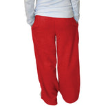 Solid Red Womens Adult Pant