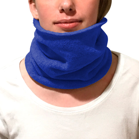 Solid Royal Blue Youth and Adult Neck Warmer