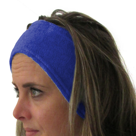 Solid Royal Blue Youth and Adult Head Band