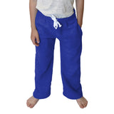 Solid Royal Blue Youth Pant