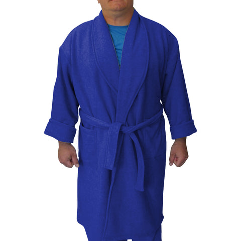 Solid Royal Blue Youth and Adult Robe