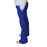 Solid Royal Blue Womens Adult Pant