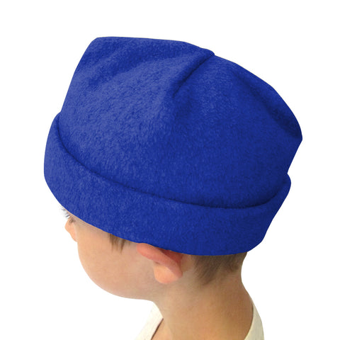 Solid Royal Blue Youth and Adult Hat
