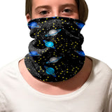 Space Saturn Youth and Adult Neck Warmer