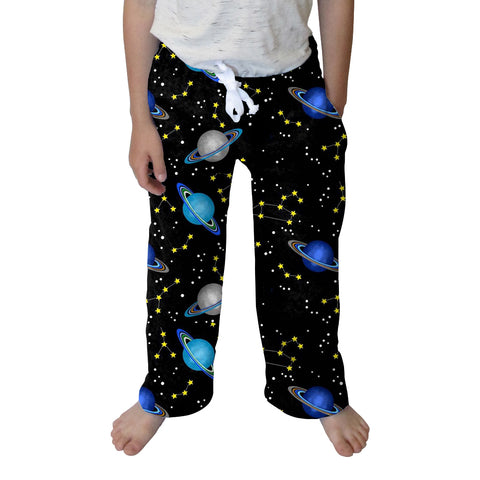 Space Saturn Toddler Pant