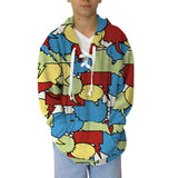 Thinking Bubbles Adult Hooded Top