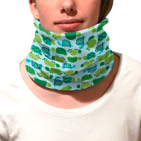 Turtle Time Youth and Adult Neck Warmer