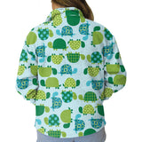 Turtle Time Youth Collared Top