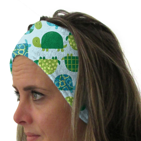 Turtle Time Youth and Adult Head Band