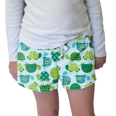 Turtle Time Womens Short Short