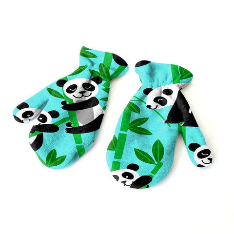 Panda Panda! Mitten - Double Sided