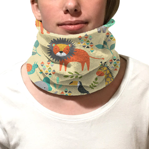 Safari Party Youth and Adult Neck Warmer