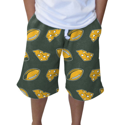 Wi Pro Football Adult Knee Length Short