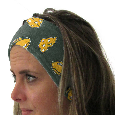 Wi Pro Football Youth and Adult Head Band
