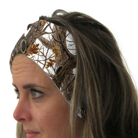 Winter Camo Youth and Adult Head Band