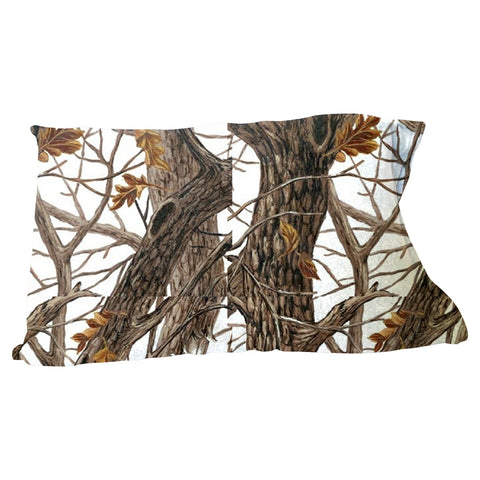 Winter Camo Pillow Case