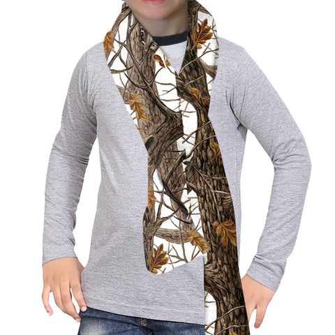 Winter Camo Scarf - Double Sided