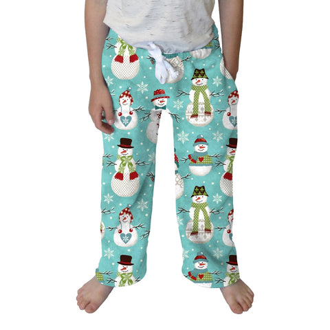 Winter Snowmen Youth Pant