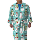 Winter Snowmen Youth and Adult Robe