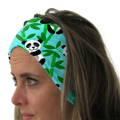 Panda Panda! Youth and Adult Head Band
