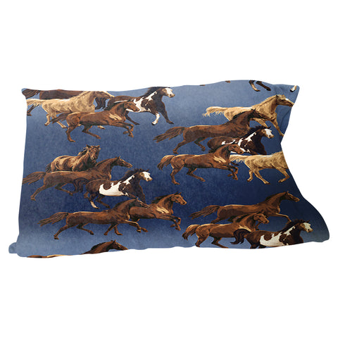 Wild Horses Pillow Case
