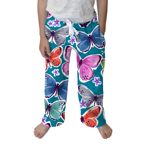 Wild Butterflies Toddler Pant