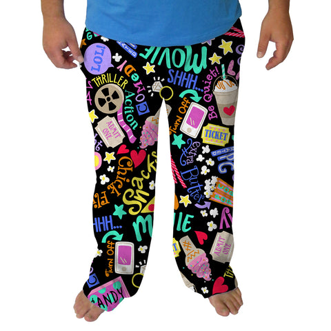 Movie Night Mens Adult Pant