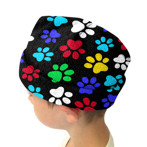 Multi Color Paws Adult and Youth Hat