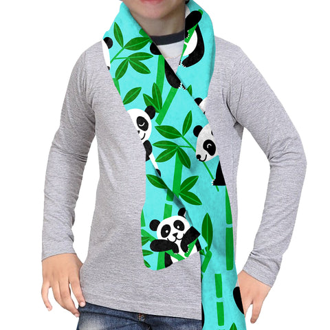 PANDA PANDA! SCARF - DOUBLE SIDED
