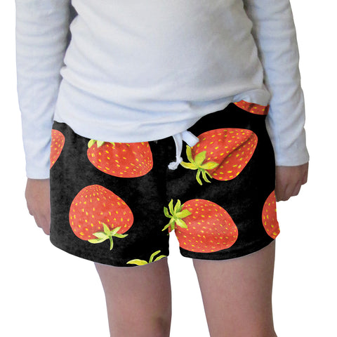 Strawberry Fun Womens Short Short