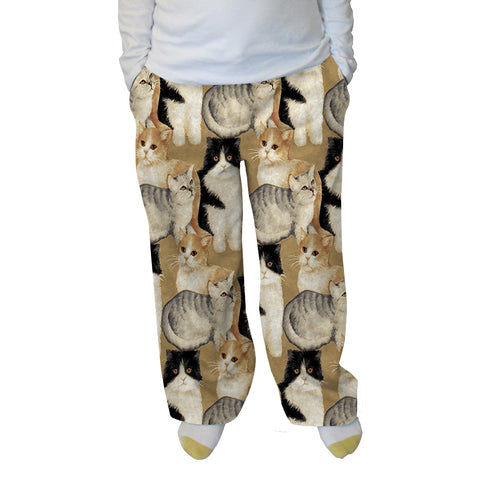 Cat Collage Womens Adult Pant