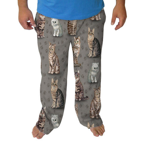 Purrfect Kittties Mens Adult Pant