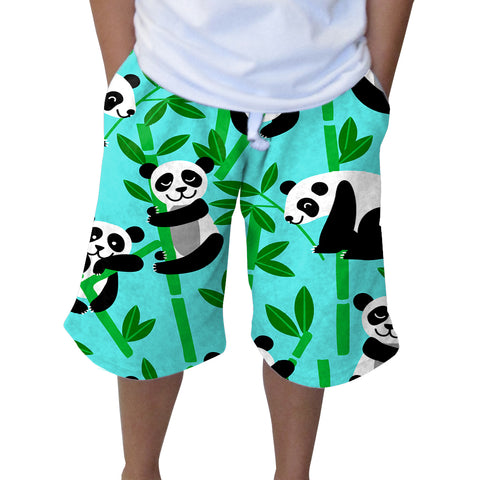 PANDA PANDA YOUTH KNEE LENGTH SHORT