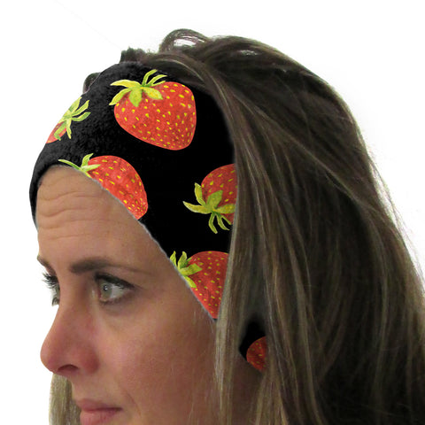 Strawberry Fun Youth and Adult Head Band