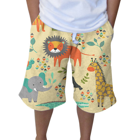 Safari Party Knee Length Short
