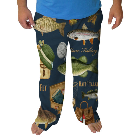 Gone Fishing Mens Adult Pant