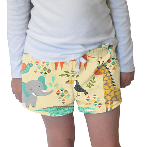 Safari Party Womens Short Short