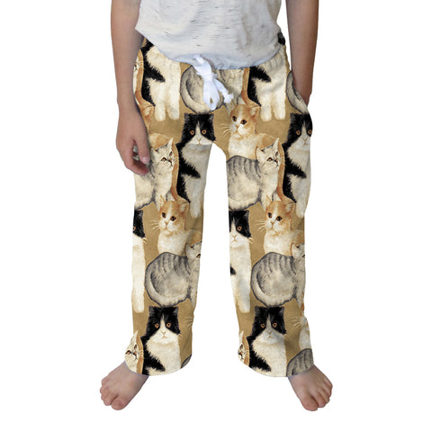 Cat Collage Toddler Pant