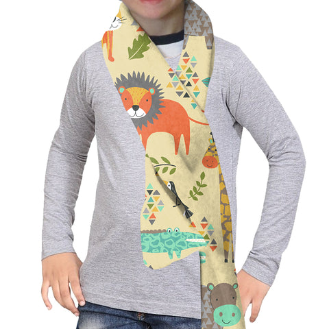 SAFARI PARTY SCARF - DOUBLE SIDED