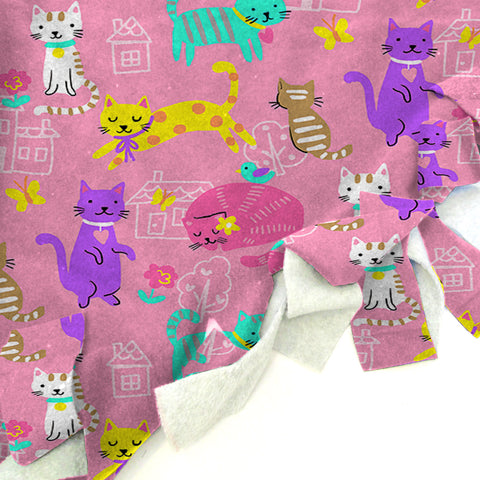 Kitty Party  Blanket Tie Kit