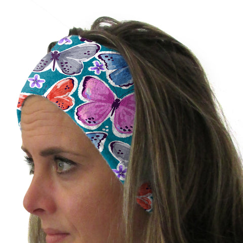 Wild Butterflies Youth and Adult Head Band