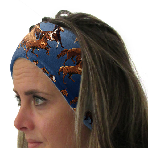 Wild Horses Youth and Adult Head Band