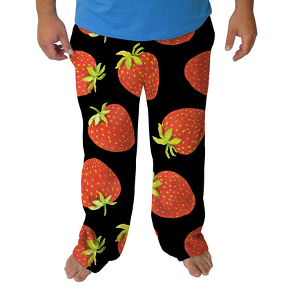 Strawberry Fun Mens Adult Pant