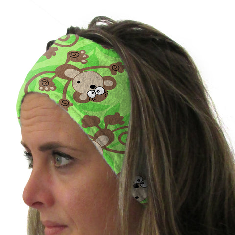 Monkey Business Youth and Adult Head Band
