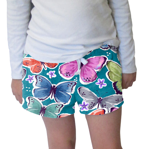 Wild Buttelifies Womens Short Short