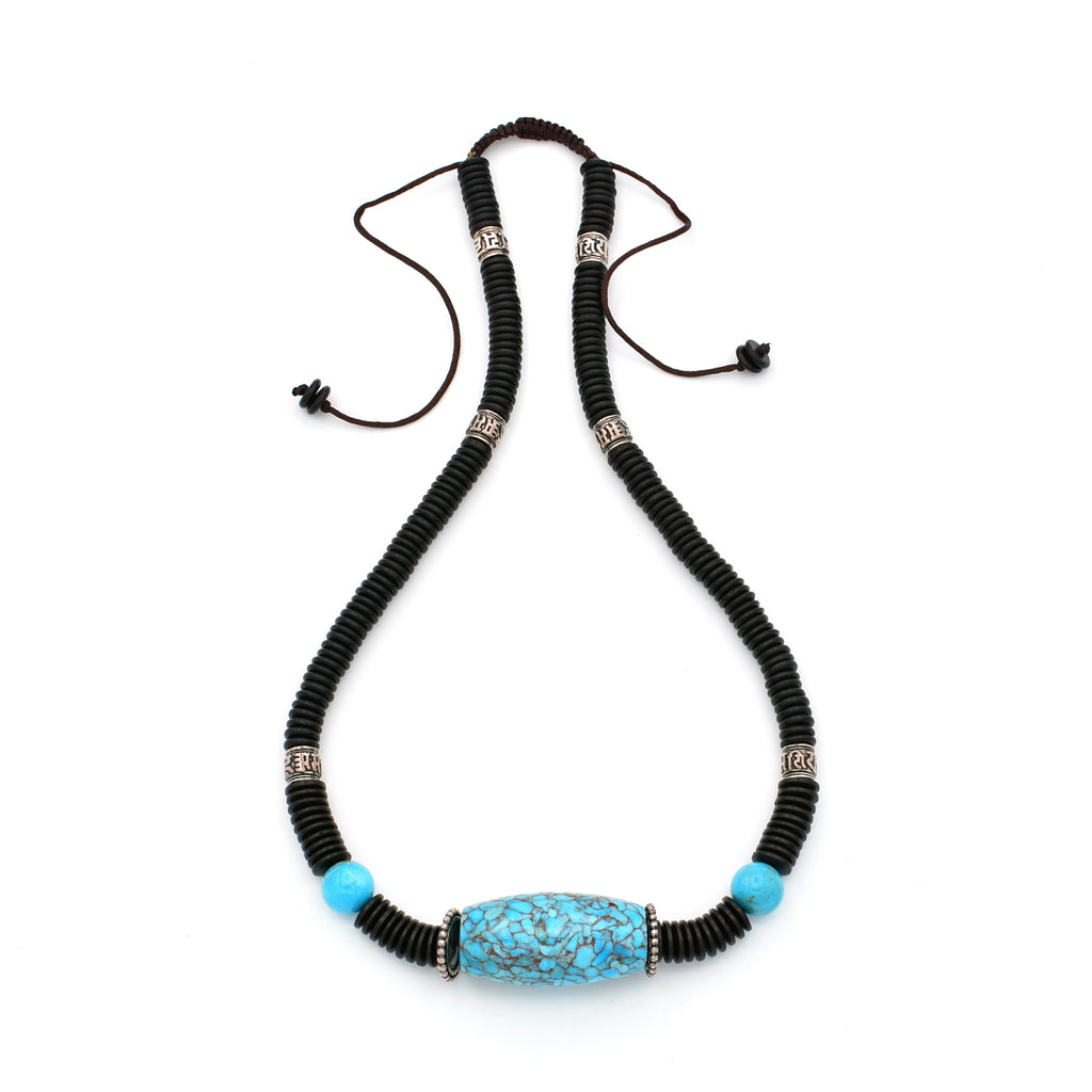 Turquoise Necklace 19 inch