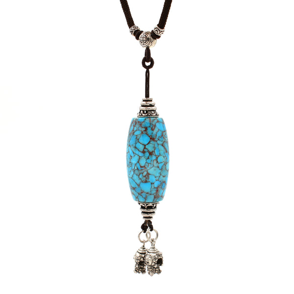 Turquoise Necklace 17 inch