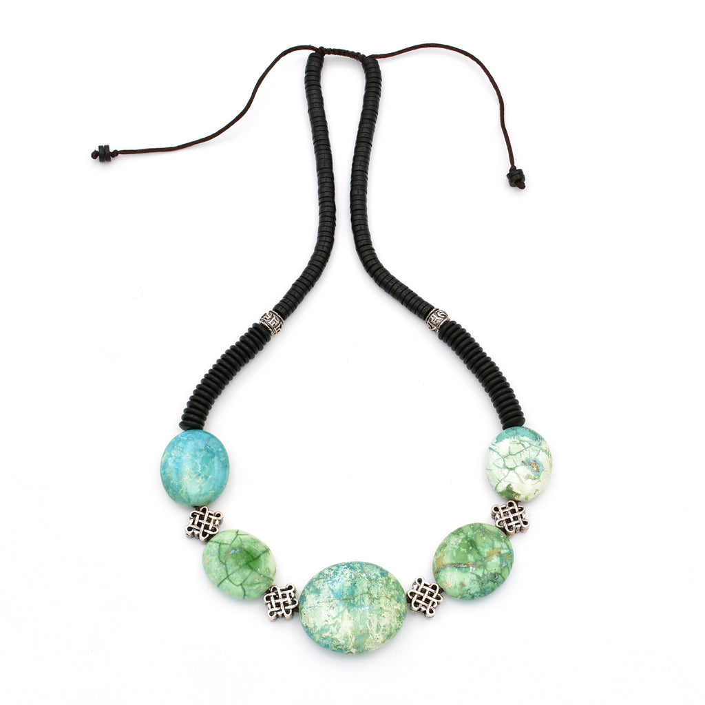 Turquoise Necklace 18 inch